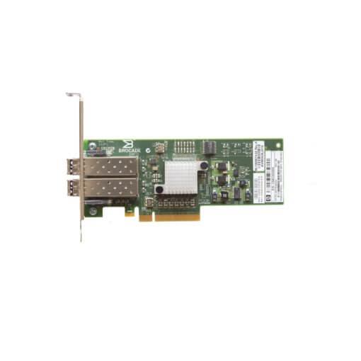 Gebrauchte Server Shop Brocade 825 Fibre Channel HBA von oben