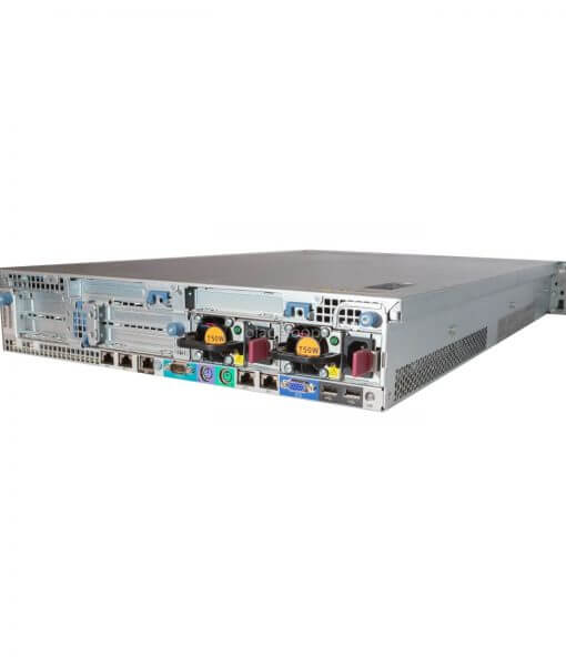 HP DL380 G7 Server gebrauch, Rückseitet