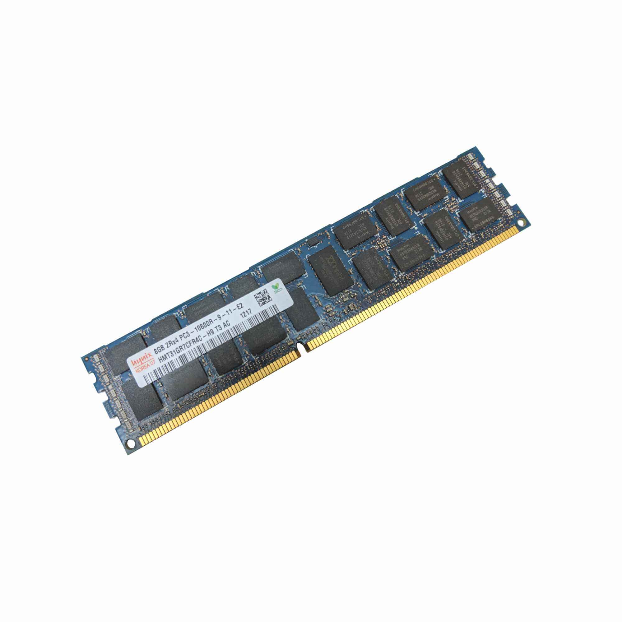500662-b21 500205-071 501536-001 HP 8GB 2RX4 PC3-10600R-9 DDR3-1333 ECC MEMORY
