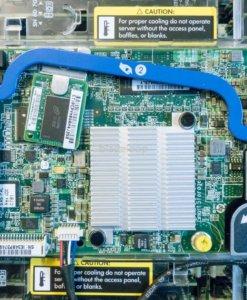 Detail BL460c Gen8 Blade Servers mit P220i Controller