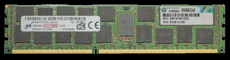 PC3-12800R registered RAM Modul
