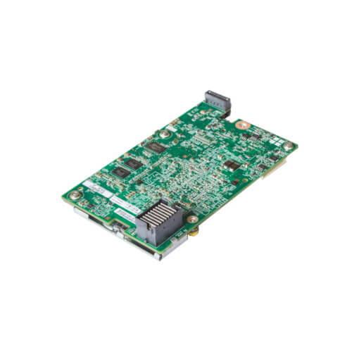 HP Samrt Array BL460c Gen8 P220i RAID Controller für gebrauchte Blade Server, perspektivisch von unten