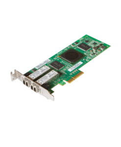 HP QLE2462 AE312A Doal Port Low Profile FC HBA, perspektivisch