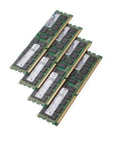4 x DDR3 RAM für gebrauchte Server