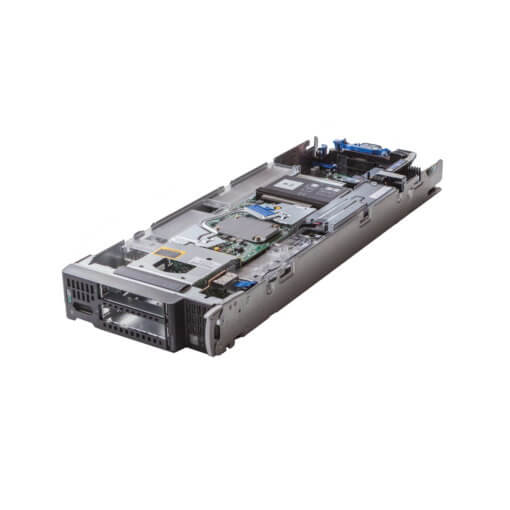 HP BL460c Gen9 Blade Server offen, perspektivisch, günstiger, gebrauchter Server.