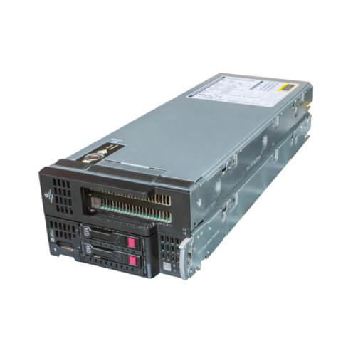 HP WS460c Gen9 Graphics Server Blade mit NVIDIA GRID K1 GPU für HP c7000 Enclosure als gebrauchter Server, Front